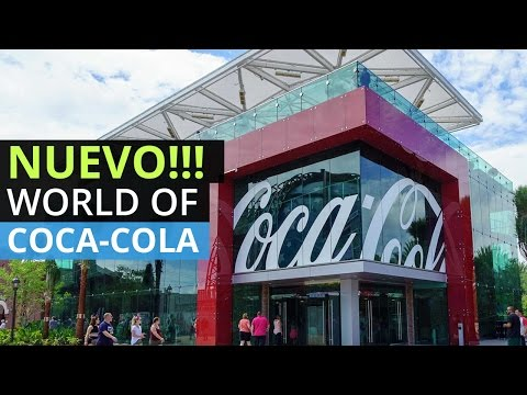 El Nuevo World of Coca Cola en Disney Springs Orlando Florida