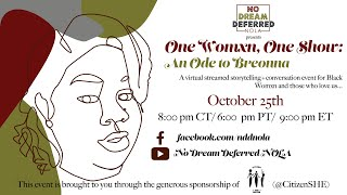 One Womxn, One Show: An Ode to Breonna Taylor