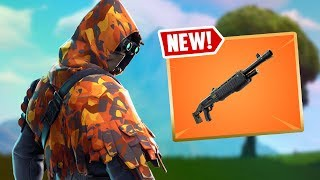 Fortnite New Update LEGENDARY PUMP SHOTGUN! Fortnite Funny Fails and Wins #87