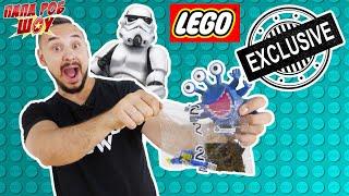 Папа РОБ и Звездные войны: сборка корабля LEGO!
