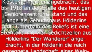 Name: Friedrich Hölderlin-Denkmal in Lauffen am Neckar Jahr: Bronze...
