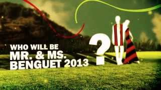 Mr and Ms Benguet 2013 Teaser