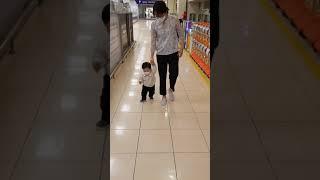2021-05-08 생후502일 재우 걸음마 연습 롯데…