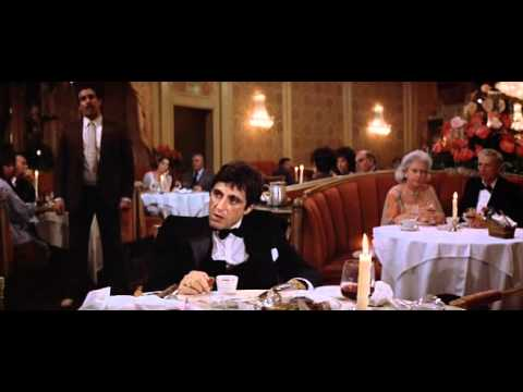 Scarface - The Restaurant Scene