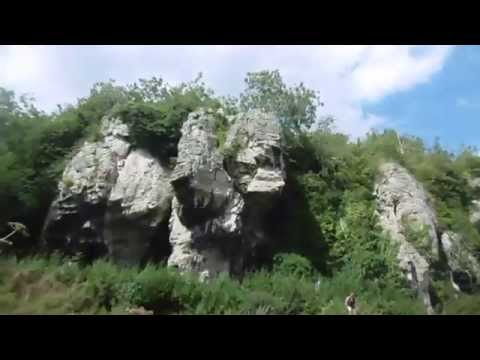 Prehistoric Cresswell Crags solo clifftop wildcamp