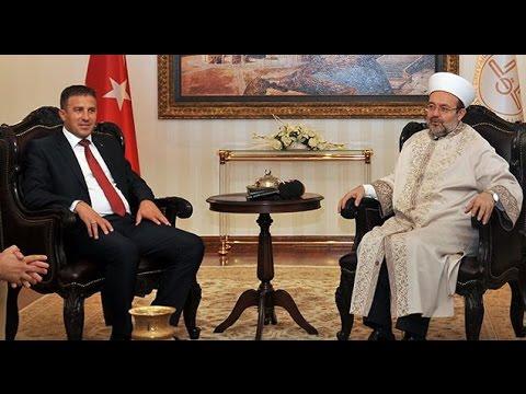Kosova Devlet Bakanı Rasim Demiri'den Diyanet'e ziyaret…