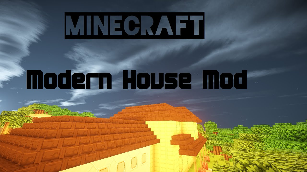 Modern House Mod Minecraft 1710 YouTube