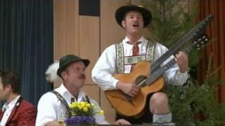 Duo Hornsteiner/Kriner  Mittenwalder Tagaussinger Lied + Wanns scheane Fruahjahr kimmt