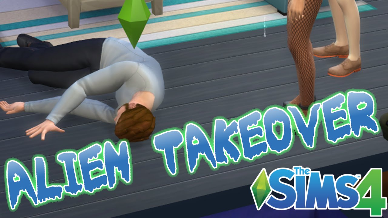 Squishy survival 9 - 9 Alien Takeover Challenge Sims 4