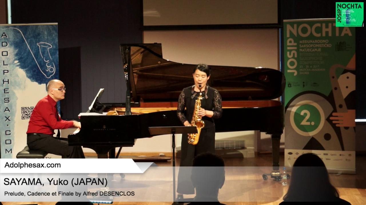 Prelude, Cadence et Finale by Alfred Desenclos – SAYAMA, Yuko (Japan)