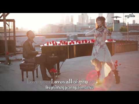 [ Vietsub + Kara ] All Of Me - John Legend & Lindsey Stirling