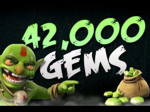 Clash of Clans | 42,000 Gem Special! | Free Gems