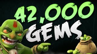Clash of Clans | 42,000 Gem Special! | Free Gems