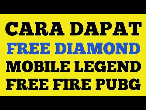CARA DAPAT FREE DIAMOND MOBILE LEGEND CARA DAPAT DIAMOND FREE FIRE CARA DAPAT UC FREE PUBG 2020 - 동영상