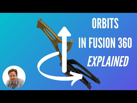 Constrained Orbit and Free Orbit In Fusion 360