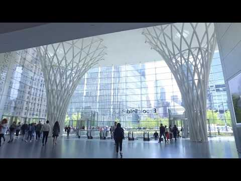 [4k] New York Walk Brookfield Place/World Trade Center to Janes Carousel