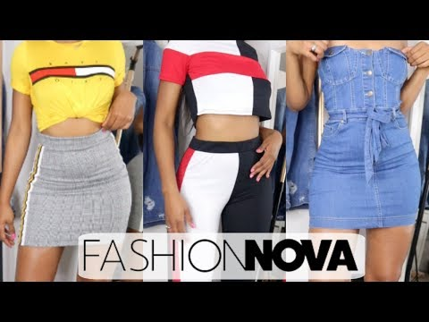BACK TO SCHOOL FASHION NOVA CLOTHING TRY...