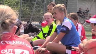 FFC-Mädchenfußballschule mit Jackie Groenen und Bryane Heaberlin