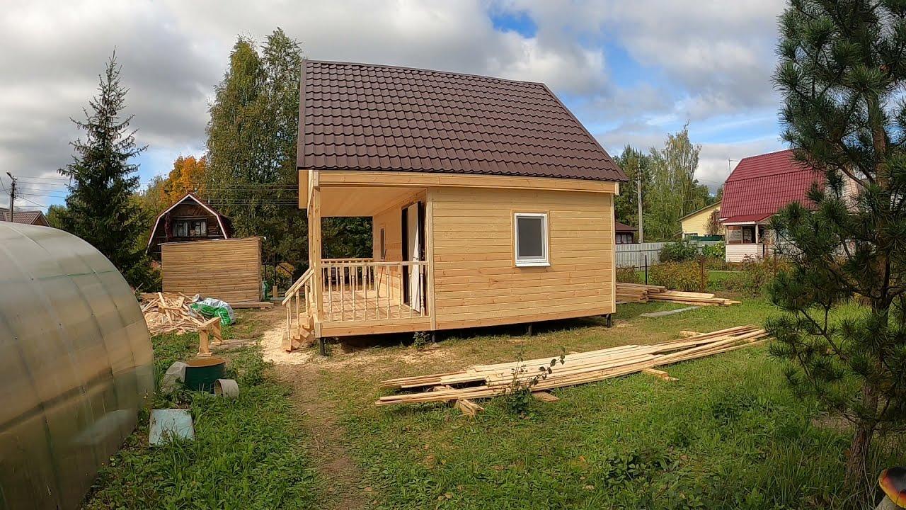 Видео-обзор дачного дома по проекту «Прага-4»