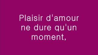 Plaisir D