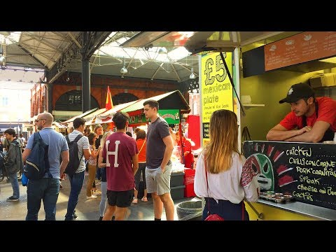 LONDON WALK | Old Spitalfields Market from Liverpool Street Station | England
