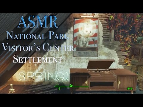ASMR Tour: Fallout 4 National Park Visitor's Center Settlement