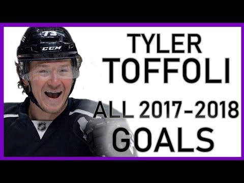 Tyler Toffoli ALL GOALS From the 2017-18 Season
