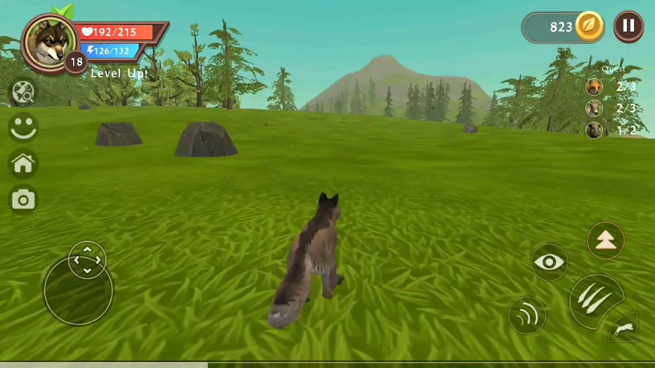 لعبة الذئب #22 | العاب حيوانات مفترسة animals Games | العاب اطفال