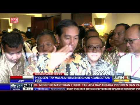 Presiden: Pembekuan Keanggotaan Sementara Indonesia dalam OPEC Bukan Masalah Besar