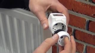 HR92-radiatorregelaar monteren en aansluiten | Honeywell Home