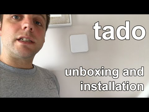 Tado - Unboxing and Installation - with Extension Kit