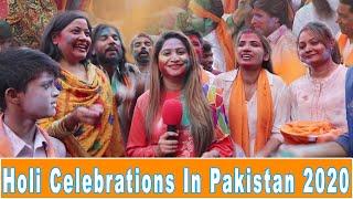 Holi Celebrations In Pakistan 2020   HAPPY HOLI   Sana Amjad