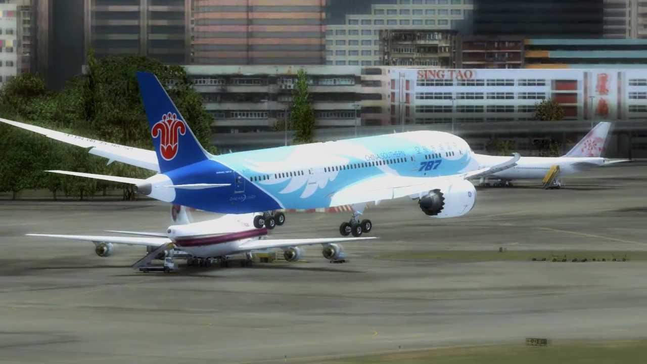 FSX HD | The Aerosim 787 X !!