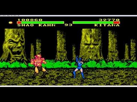 Полное прохождение игры Mortal Kombat 2 Special (NES/Dendy)
