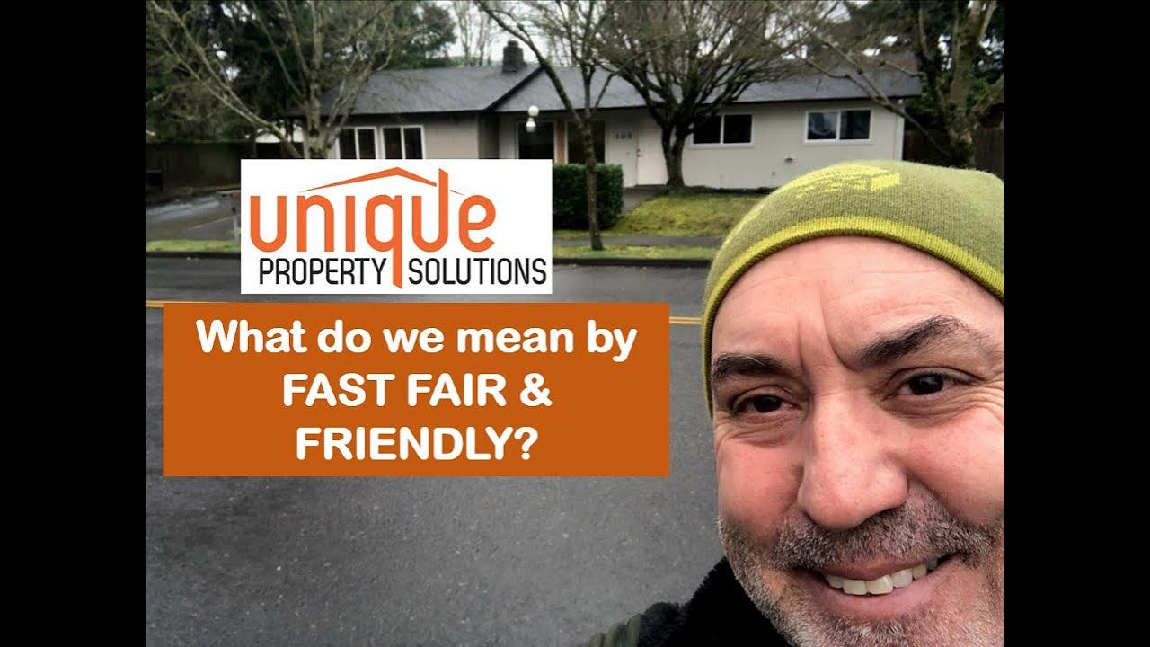 Jerry explains Fast, Fair & Friendly