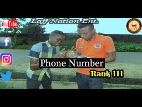 Phone Number (Laff Nation Ent.) (Rank 111)