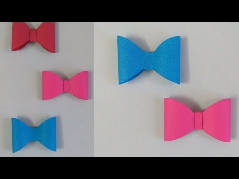 Origami- How to make a paper bow tie🎀 | Origami paper bow ties| DIY| Innovative Insider