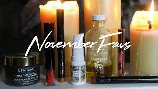 November Favorites + Lancome Review