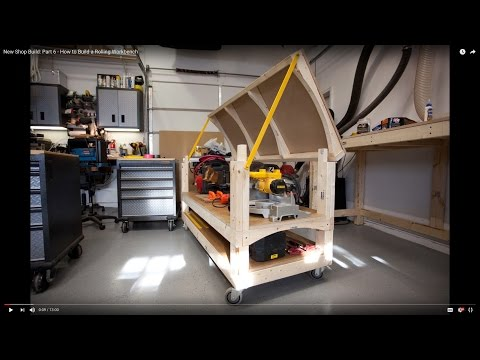 New Shop Build: Part 6 - How to Build a Rolling Workbench