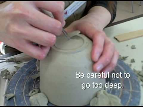 How to make a Pinch Pot Part 2: Trimming and Decorating