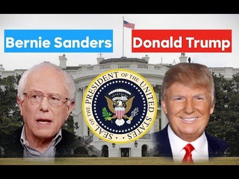 Bernie Sanders vs Donald Trump   2020 Election Prediction