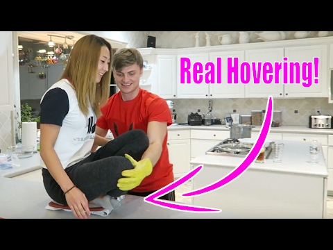 DRY ICE HOVERBOARD (Home made Hoverboard -easy!)