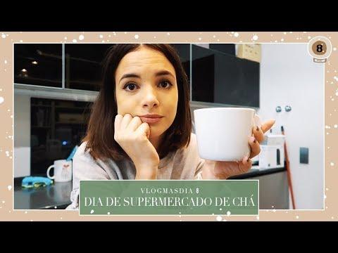 DIA DE SUPERMERCADO E CHÁ - VLOGMAS DIA 8 | Mafalda Sampaio