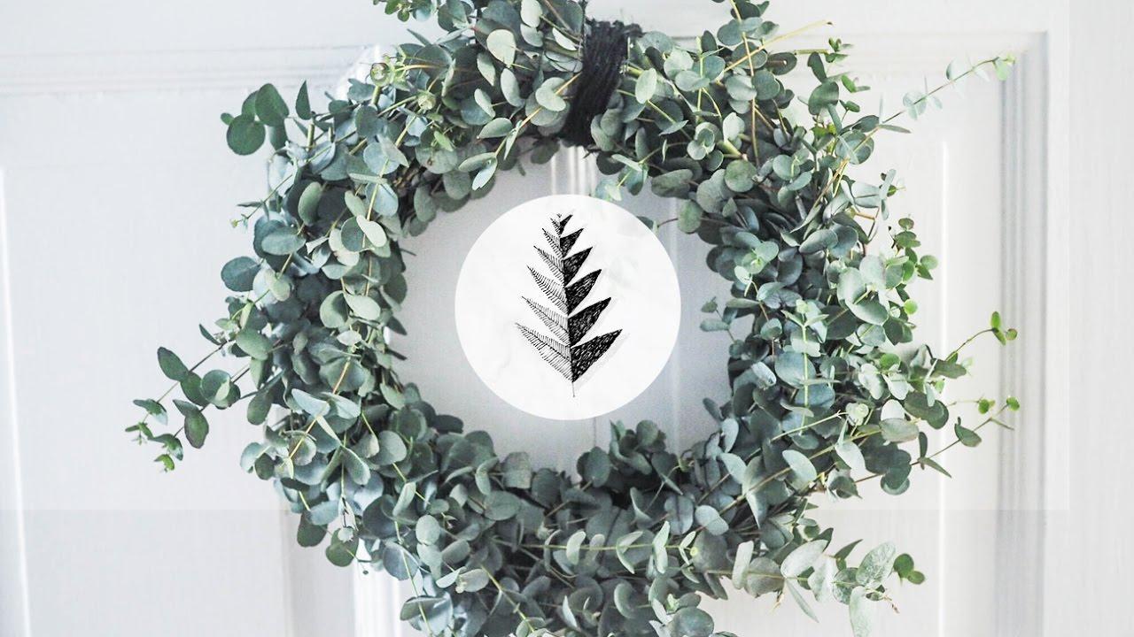 Waldsinnig DIY  Eukalyptus Kranz fr natrliche