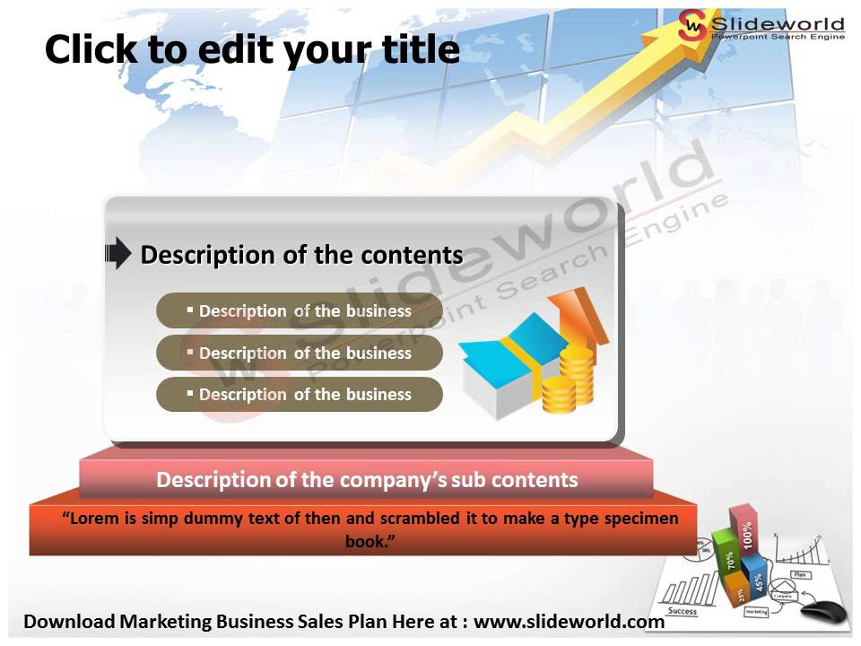marketing business sales plan powerpoint presentation - youtube, Modern powerpoint