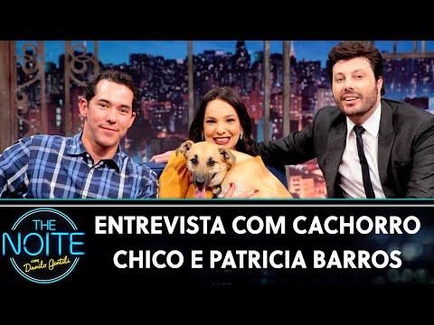 Entrevista com o Cachorro Chico e Patricia Barros   The Noite 250719