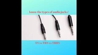 Things you didn't know about Audio plugs