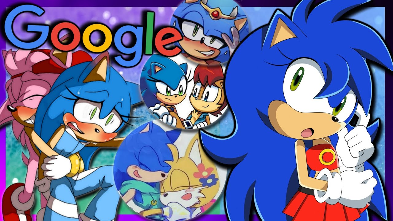 Sonica Googles Herself | Female Sonic The Hedgehog