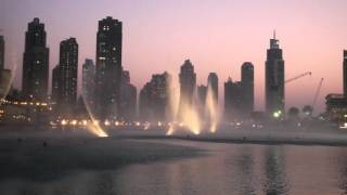 Musical Fountain Dubai Burj al Arab & Burj Khalifa