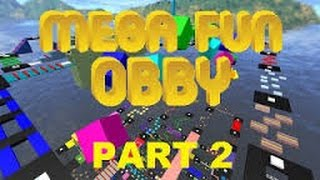 Let's Play Roblox 835 Mega Fun Obby #2